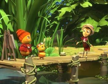 Apollon le grillon et les drôles de petites bêtes S01E00 Et partout dans la ruche