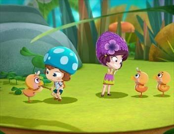 Lilybuds S01E09 Lilas fait du babysitting