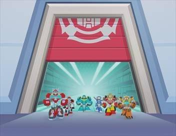 Transformers Rescue Bots Academy S01E01 Nouvelles recrues