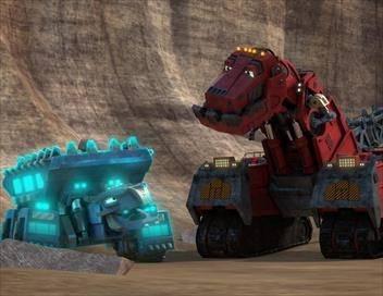 Dinotrux Superboostés S03E13 Tim versus D-Strux