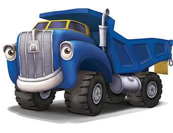 Jack et les camions S01E00 Camion-chat à l'aveuglette