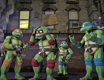 Les Tortues Ninja S04E10 Les tortues transdimensionnelles