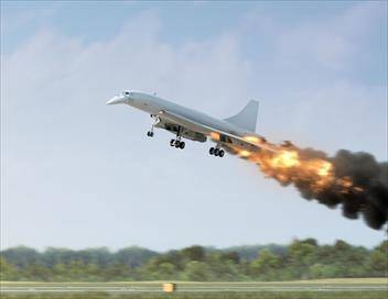 Air Crash S13E11 Le concorde en flammes