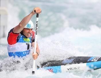 2e manche. 1er jour Canoë-kayak Coupe du monde de slalom 2019