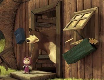 Masha et Michka S02E02 Cours, petit poney !