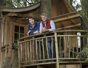 Cabanes perchées S07E03 Un sauna dans les arbres