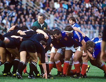 Rugby Test match 1986