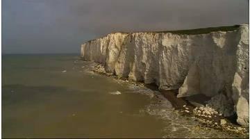 Les côtes d'Europe vues du ciel : ILES BRITANNIQUES COTE OUEST