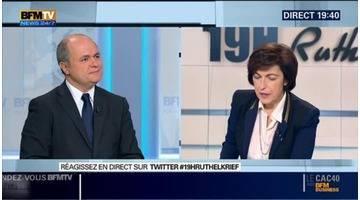 """Régionales: """"Il n'y a aucune raison que Claude Bartolone quitte la présidence de l'Assemblée nationale"""", Bruno Le Roux"""