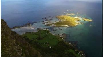 Les côtes d'Europe vues du ciel : SCANDINAVIE AU ZENITH