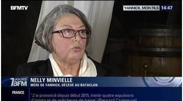 Attentats de Paris: la mère de Yannick, tué au Bataclan, livre son témoignage