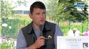 Richard Powell (Haras du Lieu des Champs) invité sur le plateau des JEM - 04/09/14