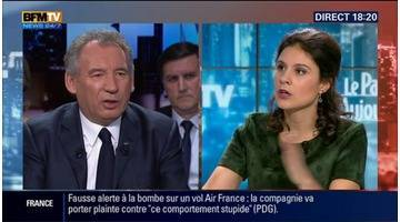 """Promesses de faire de la politique autrement: """"Tout cela est un gigantesque jeu de dupes"""", François Bayrou (1/2)"""