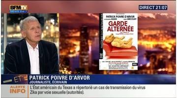 Après le JT, Patrick Poivre d'Arvor se lance dans le théâtre