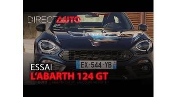ESSAI : L'ABARTH 124 GT