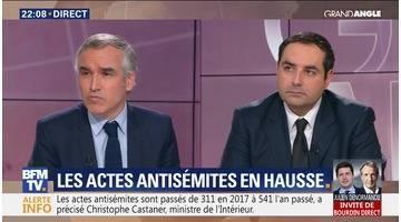 Antisémite: L'inquiétante hausse (1/2)