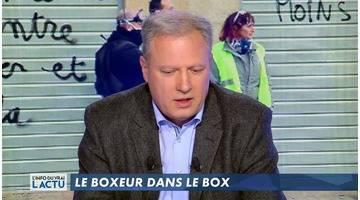 Le boxeur dans le box - L'Info du vrai du 13/02 - CANAL+
