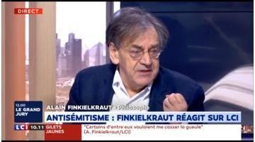 Alain Finkielkraut sur LCI : retrouvez l'intégralité de son inteview