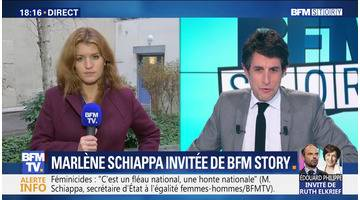 Marlène Schiappa invitée de BFM Story