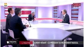Invité : Laurent Hénart - Territoires d'infos (06/03/2019)