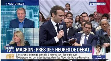 """Emmanuel Macron: """"Accélérer le changement"""" (1/2)"""