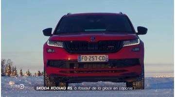 Turbo : Skoda Kodiaq RS : à l'assaut de la glace en Laponie !