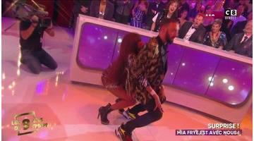 La danse torride de Mia Frye et Cyril Hanouna