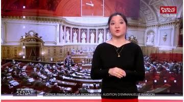 Office français de la biodiversité : audition d'Emmanuelle Wargon - Les matins du Sénat (09/04/20