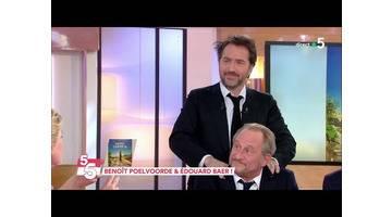 Benoit Poelvoorde et Édouard Baer réunis ! - C à Vous - 11/04/2019