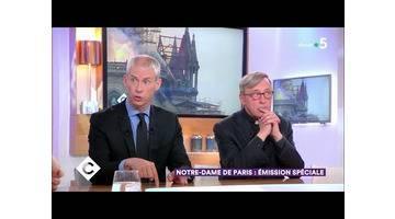 Notre-Dame de Paris : émission spéciale ! - C à Vous - 16/04/2019