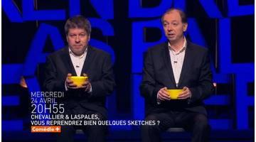 """Chevallier et Laspalès """"Vous reprendrez bien quelques sketches"""" - Bande-annonce"""
