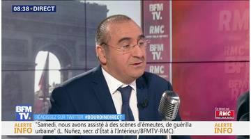 Laurent Nuñez face à Jean-Jacques Bourdin en direct