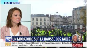 Un moratoire sur la hausse des taxes