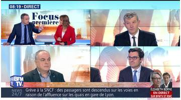 Focus Première: Le début du bras de fer à la SNCF