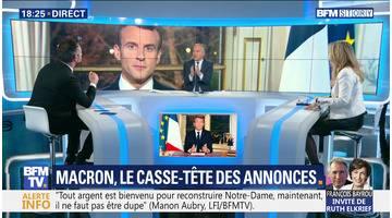 Emmanuel Macron: le casse-tête des annonces