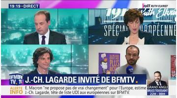 Spéciale Européennes: Jean-Christophe Lagarde est l'invité de BFMTV