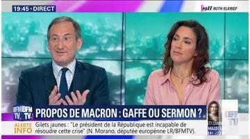 Propos d'Emmanuel Macron: Gaffe ou sermon ?