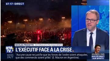 Gilets jaunes: L'exécutif face à la crise