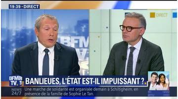 Jean-Michel Fauvergue face à Eric Brunet