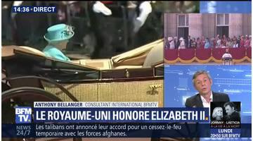 Anniversaire officiel d'Elisabeth II: la Royaume-Uni honore la reine