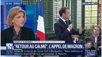"""""""Retour au calme"""", l'appel de Macron (1/2)"""