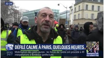 Acte X des gilets jaunes à Paris: Quelques heurts après une journée calme