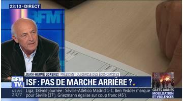 Plus des deux tiers des Français favorables au rétablissement de l'ISF (2/2)
