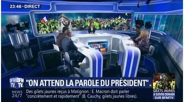 """Gilets jaunes: """"on attend la parole du président"""""""