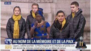 Au nom de la mémoire et de la paix