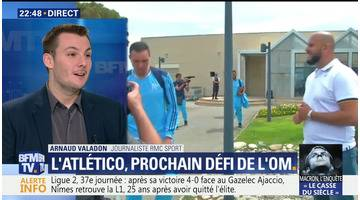 Marseille: le retour des héros