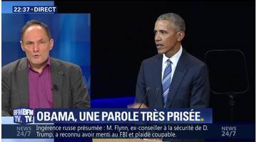 Barack Obama tacle la politique climatique de Donald Trump (1/2)