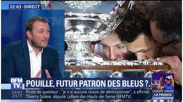 Tennis: La France a remporté la dixième Coupe Davis