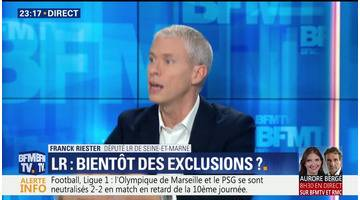 """Les Républicains: """"Le divorce est pratiquement consommé"""", Franck Riester"""