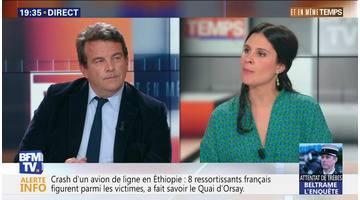 """Thierry Solère: """"Notre fameux modèle social ne nous amène plus que du chômage de masse et de la pauvreté"""""""